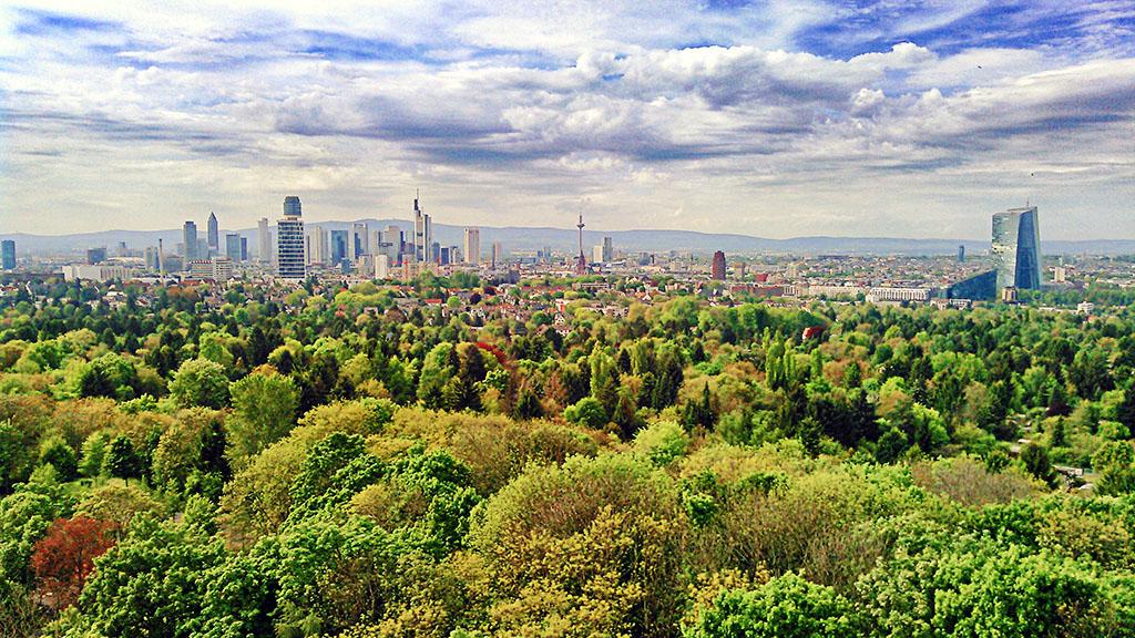 Skyline vom Goetheturm gesehen